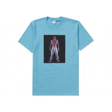 Supreme Tupac Hologram Tee Light Slate