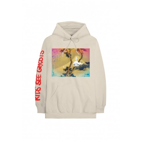 "Kid Cudi X Kanye West Hoodie ""Kids See Ghost"""