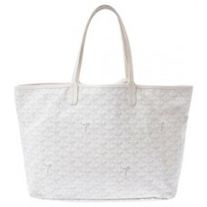 Goyard Saint Louis White Handbag