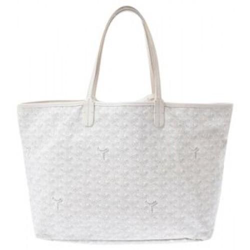 Goyard Saint Louis White Handbag