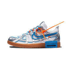 Nike Off-White Rubber Dunk UNC