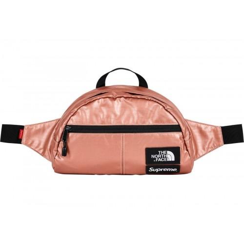 Supreme x TNF Metallic Rose Gold Waistbag