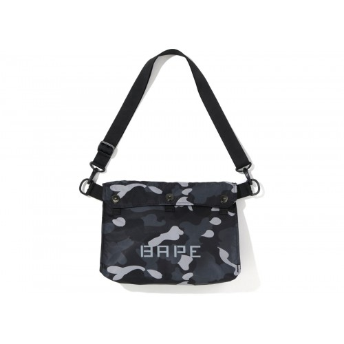 BAPE Gradation Camo Shoulder Bag Black