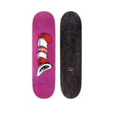 Supreme Cat in The Hat Skate Deck Pink