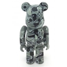 Bape Play Psych Camo Blue Be@rbrick 400% 2008