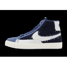 Nike SB Blazer MID PRM Shashiko Mystic Navy