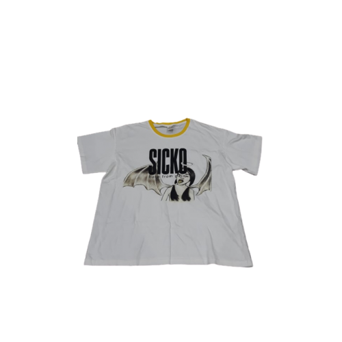 Sicko Born From Pain White Tee