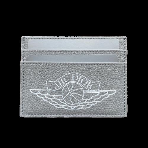 Air Jordan x Dior Card Holder Grey