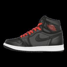 Air Jordan 1 Satin Black Red