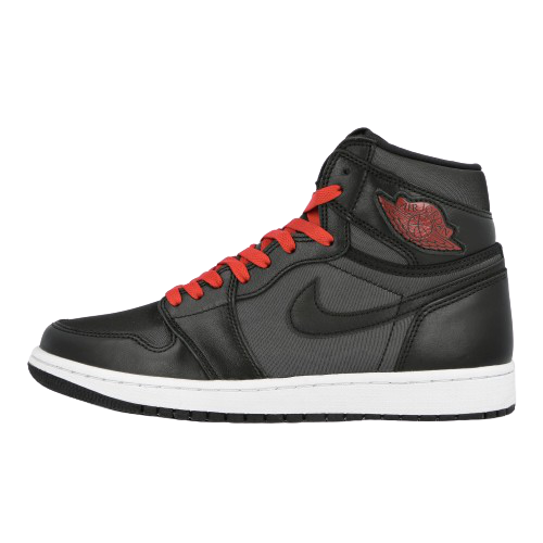 Air Jordan 1 Satin Black Red