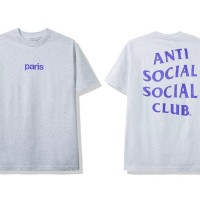 Anti Social Social Club Paris Grey Tee