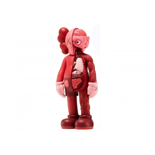 Kaws Companion Blush Flayed Red