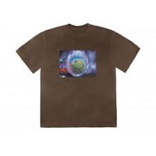 Travis Scott World Event T-Shirt Bleached Black