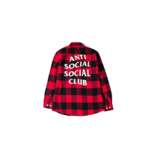 ASSC No Expectations Red Flannel Tee
