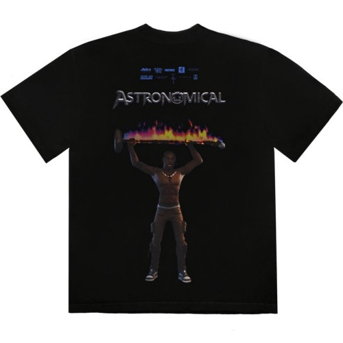 Astroworld Rage Black Tee