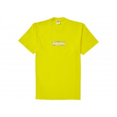 Supreme Bandana Box Logo Yellow Tee