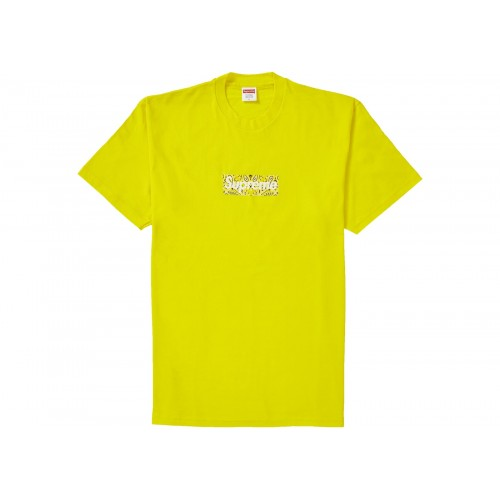 Supreme Bandana Box Logo Yellow Tee