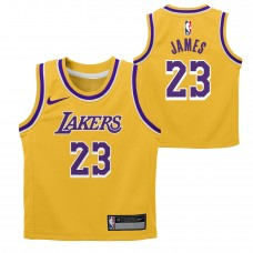 NBA Los Angeles Lakers Lebron James Jersey Kids Size