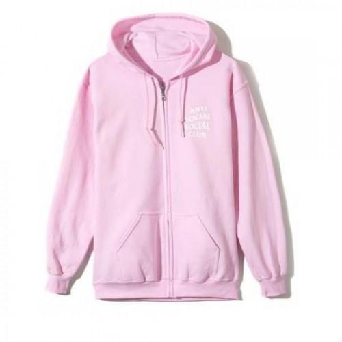 ASSC Koch Pink Zipped Hoodie