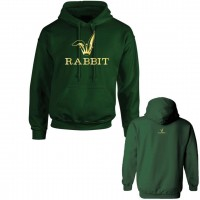 Icy Rabbit Green Hoodie