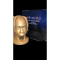 Astroworld Super Deluxe Album 3D Printed Glow In The Dark