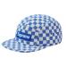Supreme Blue White Checkboard Camp Cap