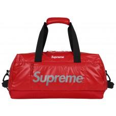 Supreme Red Duffle Bag
