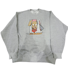 Icy Rabbit Grey Tee Long Sleeve
