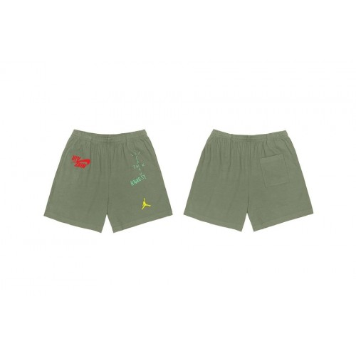 Travis Scott Highest in the room x Jordan Green Shorts