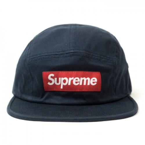 Supreme Blue Chino Washed Hat
