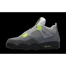 Nike Air Jordan 4 Lime Green