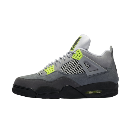 Nike Air Jordan 4 Lime Green