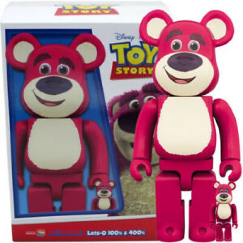 Medicom Be@rbrick Bearbrick Toy Story Lots-O'-Huggin' Bear Set 100% & 400%