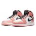 Air Jordan 1 Mid Pink Quartz  (GS )