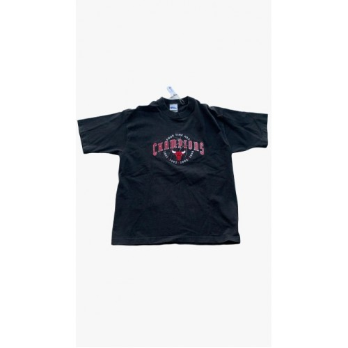Chicago Bulls 1996 Champions Black T