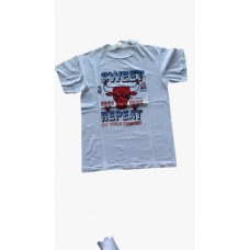 Chicago Bulls Sweet Repeat Champion 1996 Vintage Tee