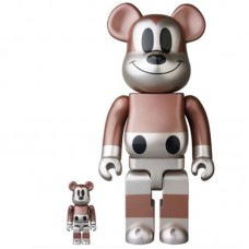 Undefeated Mickey Mouse Bearbrick 400% 100% Medicom be@rbrick