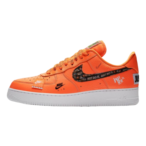 Nike Air Force 1 07 Just Do It Pack Total Orange/Black-White