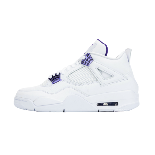 Air Jordan 4 Court Purple Metallic