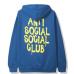 Anti Social Social Club Les Hoodie Blue