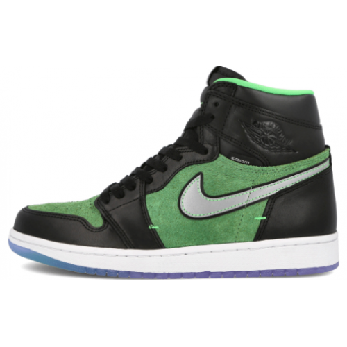 Air Jordan 1 High Zoom Black Rage Green