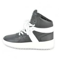 Fear Of God Basketball Sneakers Black and White