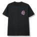 ASSC X Fragment Black Tee Pink Logo