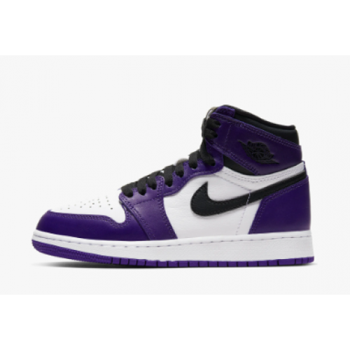 Air Jordan 1 High OG Court Purple GS 2.0
