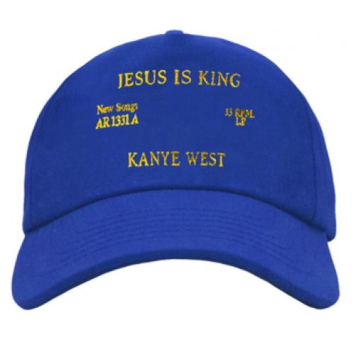 Jesus Is King Kanye West cap