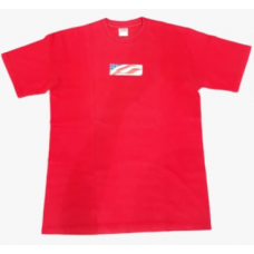 Supreme 9/11 Bogo Red Tee