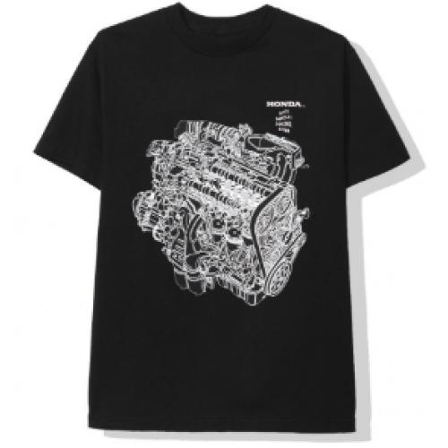 ASSC Honda Motor Black Tee