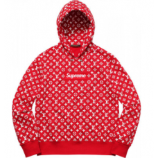 Supreme x Louis Vuitton Box Logo Hoodie Monogram