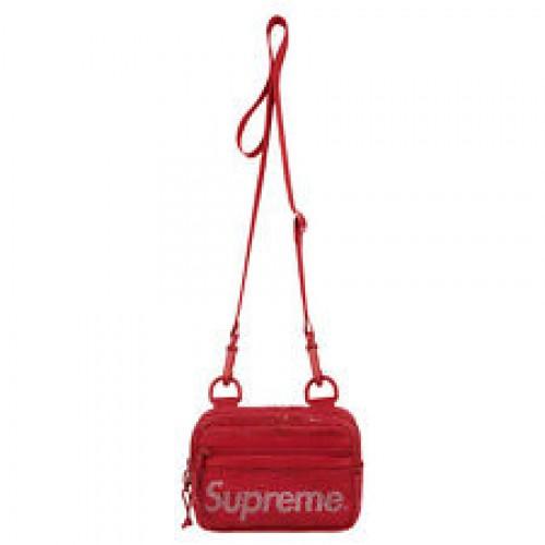 Supreme Mesh Side Bag Dark Red