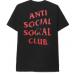 Anti Social Social Club Bitter Black Tee